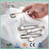 """5개의 """" 담요 걸기를 위한 은 거대한 강한 스테인리스 세탁물 핀"""