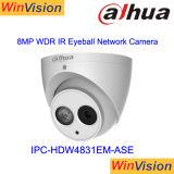 Macchina fotografica esterna piena Ipc-Hdw4831em-Ase del CCTV di Dahua della cupola del H. 265 4K HD Poe
