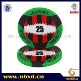 viruta de póker 2-Tone del ABS de 11.5g 3-Stripe Juego
