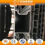 Aluminium de Weiye/aluminium/profil/longeron d'Aluminio pour le guichet de glissement