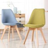 의자를 식사해 피복 방석 팔걸이 튤립을%s 가진 까만 빨간 회전 의자 작풍