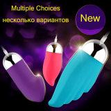 Het Trillende Ei van de Vibrator van het Geslacht van het silicone met 20 Speelgoed van het Geslacht van Trillingen voor Privé Vrouwen