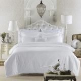 ホテルのアパートのサテンの贅沢な綿のシーツセット