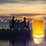 Lampada da parete di effetto di fuoco della lampadina della luce intermittente della fiamma di E27 E26 E14 B22 E12 LED 99SMD 5W