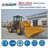 Prezzo del caricatore della parte frontale del caricatore della rotella di tonnellata Zl30 del cinese 3 di Eougem