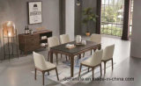Итальянский самомоднейший шикарный трактир гостиницы обедая стул фиоритуры Poliform твердой древесины