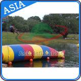 Chiazza gonfiabile personalizzata dell'acqua di formato gonfiabile/affitto della chiazza della chiazza catapulta dell'acqua/dell'acqua sosta del trampolino