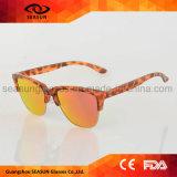 Heißeste runde widergespiegelte Mann-Frauen-Form-Blendschutzsonnenbrillen