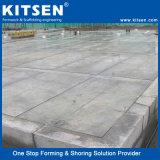 システムを形作るすべてのアルミニウムコンクリートの壁