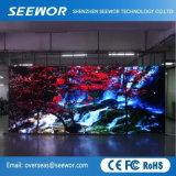Excellentes performances P4.81mm transparente Location d'intérieur de l'écran à affichage LED avec module de 250*250mm