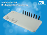 Apartamento DBL 8 Portas Gateway GSM VoIP GoIP-8