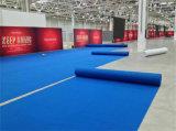 La aguja no tejido perforado costilla exposiciones evento de alfombra alfombra