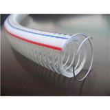 2014 섬유/철강선/나선을%s 최신 제품 비 냄새 PVC 호스는 강화했다