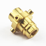 Material C3604 CNC-maschinell bearbeitendes Messingmetallersatzteil-Automobil