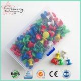 Geassorteerde Kleuren 16*26mm Plastic Speld van de Duw van de Kaart van het Hoofdkantoor