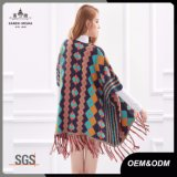 Poncho de gland de chandail de cardigan de Madame Fashion Ethnic Style New