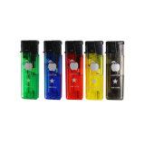 OEM прозрачной пластиковой сигареты газовые баллоны многоразового использования прикуривателя