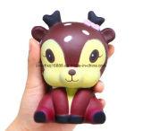 11 см Galaxy Cute Каваий мультфильм оленя крем душистыми Squishy со сдавливаемой трубой и смешные гаджеты для снятия стресса новизны антистрессовый игрушка подарок