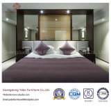 Muebles simples del dormitorio del hotel con el conjunto de equipamiento moderno (YB-WS-80)