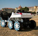 6대의 바퀴 드라이브 아이 아이들 장난감 차 전기 탐 차