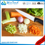 Manufaktur-Großhandelshotel-Gaststätte-Küche-keramisches Messer mit Gummi beschichtetem Griff