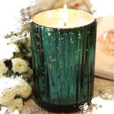 Гальванизируя покрашенная выгравированная свечка рождества для комплекта подарка