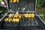 sismographe de l'ingénierie 24channels pour l'enquête séismique séismique d'onde extérieure d'enquête de réflexion de Survery de réfraction séismique