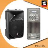 15 Spreker ps-3115AU van de FM van de duim USB BR de Plastic Actieve 200W