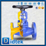 Конструкция двойного уплотнителя Didtek Wcb фланцевые концы чехла земного шара клапана