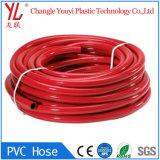 De nouvelles connaissances clair couleur flexible de gaz en PVC souple