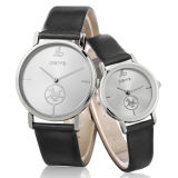 Le couple de promotion observe la montre-bracelet de dames de mode (WY-1074C)