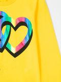 工場美しい女の子のHearttexによって印刷されるTシャツ