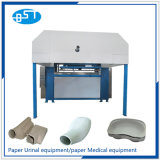 La pulpa de papel reciclado de residuos de sable orinal botella de la máquina (UL1350)