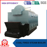 Chaudière brûlante de charbon industriel de combustible solide à Philippine