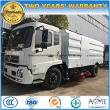 Dongfeng barredora vial 4X2 1800 y 1950 galones barrido de calles carretilla