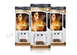 価格の硬貨によって作動させるコーヒー自動販売機F303Vとの3選択