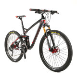 bici piena di alluminio di Mountian della sospensione di 26er Shimano M610 20speed