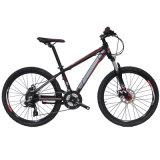 24er bici di alluminio di Mountian della forcella piena della sospensione della bicicletta 24speed