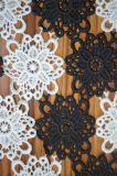 女性Dressingおよびホーム織物ののための刺繍が付いている新式のポリエステルレースファブリック