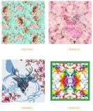 Отсутствие изготовления шарфа нестандартных конструкций печатание MOQ цифров Silk от Китая