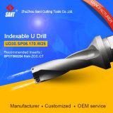 Loch-Maschinell bearbeitenhilfsmittel-indexierbares Bohrgerät Ud30. Sp06.170. W25 für CNC-Maschine