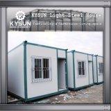 Construção de aço Prefab da instalação rápida que constrói a casa modular para o armazém