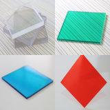 Водоустойчивый пластичный прозрачный лист Soild поликарбоната толя автопарка для здания