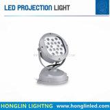 景色の照明プロジェクター照明Intiground 18W LEDのスポットライト