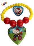 Браслет ювелирных изделий малышей пластичный с кольцом и игрушкой случая для промотирования