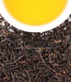 China Hecho a mano alta montaña el té negro con flores.