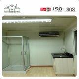 Casa modular prefabricada modificada para requisitos particulares del envase del emparedado flexible con la pared de bambú de Clading