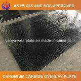 Плита верхнего слоя сопротивления износа карбида хромия