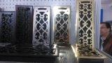 Grille d'air Multi vanne de l'obturateur de couleur blanche ou couleur de métal