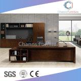 贅沢なデザイン移動式キャビネット(CAS-ED31409)が付いている管理の机マネージャ表